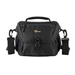 Чанта за фотоапарат Lowepro Nova 160 AW II, за DSLR, 17-85mm, 1-2 допълнителни обектива и светкавица, черен