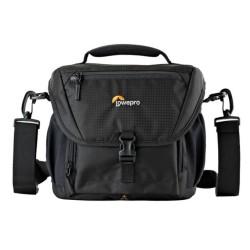 Чанта за фотоапарат Lowepro Nova 170 AW II, за SLR с прикачен обектив, черен