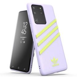 Калъф за Samsung Galaxy S20 Ultra, еко кожа, Adidas Moulded Case (KAT04333), лилав