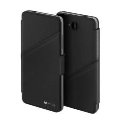 Кейс с флип дизайн за Microsoft Lumia 650, черен