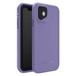 Калъф за Apple iPhone 11, LifeProof Fre 77-62485, ударо и водоустойчив, лилав