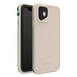 Калъф за Apple iPhone 11, LifeProof Fre 77-62487, ударо и водоустойчив, бежов