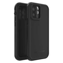 Калъф за Apple iPhone 12 / iPhone 12 Pro, хибриден, LifeProof Fre 77-65410, ударо и водоустойчив, черен
