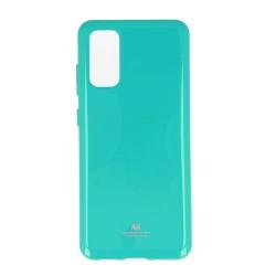 Калъф за Samsung Galaxy S20, термополиуретанов, Mercury Goospery Jelly, зелен