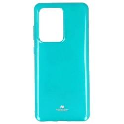 Калъф за Samsung Galaxy S20 Ultra, термополиуретанов, Mercury Goospery Jelly, зелен