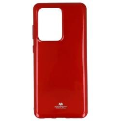 Калъф за Samsung Galaxy S20 Ultra, термополиуретанов, Mercury Goospery Jelly, червен