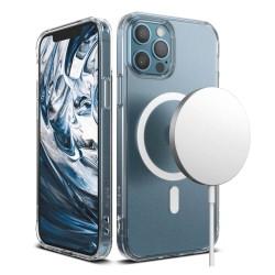 Калъф за Apple iPhone 12 / 12 Pro, хибриден, Ringke Fusion Magnetic (FSAP0062), MagSafe, прозрачен