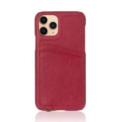 Kалъф за Apple iPhone 11 Pro, еко кожа, Torrii Koala IP1958-KOA-03, джоб за кр. карта, червен