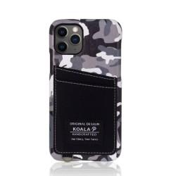Kалъф за Apple iPhone 11 Pro, еко кожа, Torrii Koala-P IP1958-KOA-P03, джоб за кр. карта, черен камуфлаж