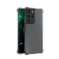 Калъф за Samsung Galaxy S21 Ultra, хибриден, Wozinsky Anti Shock Durable, удароустойчив, прозрачен