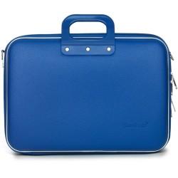 Чанта за лаптоп Bombata Business Classic cobalt blue, до 15.6