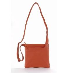 Чанта за аудио устройства TUCANO BFIMIN-O Fina Mini, MP3, iPod, естествена кожа, оранжева