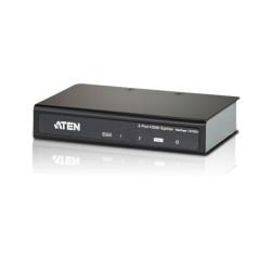 HDMI сплитер ATEN VS182A, от 1x HDMI(ж) към 2x HDMI(ж), до 15м, до Ultra HD резолюция, 3D поддръжка, 1 устройство