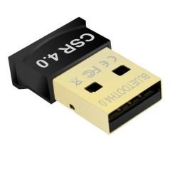 Адаптер Bluetooth USB Dongle, Bluetooth 4.0, до 25Mbps, черен