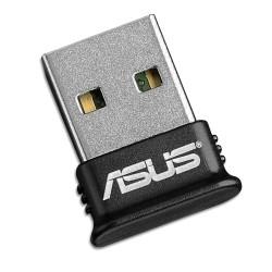 Адаптер Asus USB-BT400, USB 2.0, Bluetooth V4.0, до 3Mbps, обхват до 10м, черен