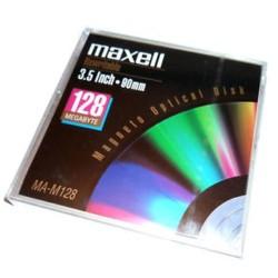 МАГНИТО - ОПТИЧЕН ДИСК MAXELL 128 MB - 512 b/s
