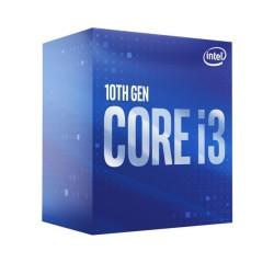 Процесор Intel Core i3-10100, четириядрен (3.6/4.3GHz, 6MB Cache, 0.35-1.1GHz GPU, LGA1200) BOX, с охлаждане