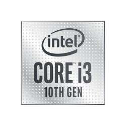 Процесор Intel Core i3-10105F, четириядрен (3.7/4.4 GHz, 6MB Cache, LGA1200) Tray, без охлаждане