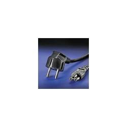 Захранващ кабел за лаптоп 3-pin шуко, 2.5 A/250 V AC, 1.8m