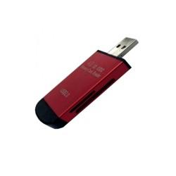 Четец за карти All in 1, USB 2.0, microSD/SD, различни цветове