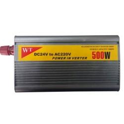 Инвертор 040111, от 24V към AC 220V / 500W, за камион