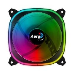 Вентилатор 120mm AeroCool Astro 12, 4-pin PWM / 6-pin RGB, 1000 rpm, RGB подсветка