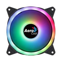 Вентилатор 120mm AeroCool Duo 12 RGB, 4-pin PWM, 1000 rpm, RGB подсветка
