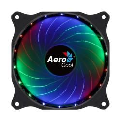 Вентилатор 120mm AeroCool Cosmo 12 Fixed RGB, Molex 4-pin, 1000 rpm, RGB подсветка