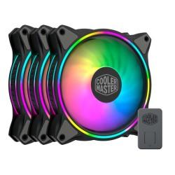 Вентилатор Cooler Master MasterFan MF120 Halo ARGB 3in1 (MFL-B2DN-183PA-R1), 4-pin, 1800 RPM, RGB подсветка