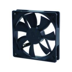 Вентилатор 120мм, EverCool EC12025M12BA 2Ball, 3 Pin Molex, 2000rpm