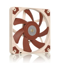 Вентилатор 120mm, Noctua NF-A12x15-FLX, 3-pin, 1850 rpm, кафяв