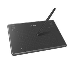Графичен таблет Huion Inspiroy H430P (черен), 122 x 76 mm, 5080 lpi, 4096 ниво на натиск, писалка