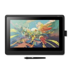 Графичен таблет Wacom Cintiq 16 (DTK1660K0B), Full HD дисплей, 5080 lpi, 8192 нива на натиск, черен