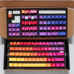 Капачки за механична клавиатура Ducky Afterglow, 108-Keycap Set ABS, Double-Shot, US Layout, различни цветове