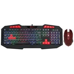 Комплект клавиатура и мишка Xtrike ME MK-503KIT, 3200dpi, USB, черни