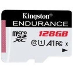Карта памет 128GB microSDXC, Kingston 128GB SDCE/128GB, Class 10 UHS-I, скорост на четене 95MB/s, скорост на запис 45 MB/s