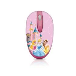 Мишка Circuit Planet Princess DSY-MM211, оптична (1000 dpi), USB, розова, самонавиващ се кабел