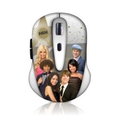 Мишка Circuit Planet HSM DSY-MW2150, оптична (1600 dpi), до 10м обхват, USB, щампа
