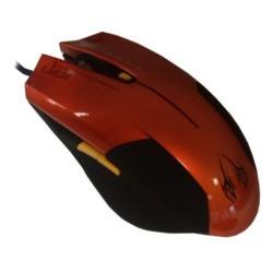 Мишка Omega 6D OPT GAMING, оптична, 2400 DPI, USB, оранжева