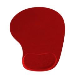 Подложка за мишка Vakoss 190X226, червен, с гел, 190 x 226 mm