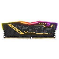 Памет 16GB (2x 8GB) DDR4 3200MHz, Team Group Delta TUF RGB, TF9D416G3200HC16CDC01, 1.35V