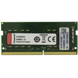 Памет 16GB 3200MHz, SO-DIMM, Kingston KVR32S22S8/16, 1.2V