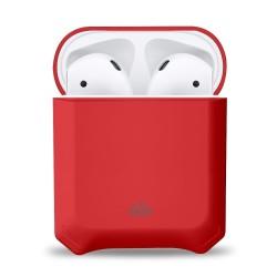 Защитен калъф Eiger North за Apple Airpods / Apple Airpods 2, удароустойчив, червен