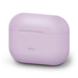 Защитен калъф Elago Basic Silicone Case за Apple Airpods Pro, лилав