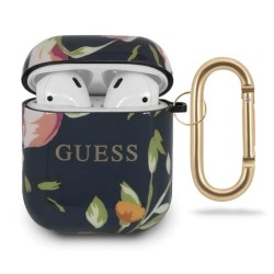 Защитен калъф Guess Flower Collection No.3 за Apple Airpods / Apple Airpods 2, цветя