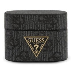 Защитен калъф Guess 4G Collection за Apple Airpads Pro, черен
