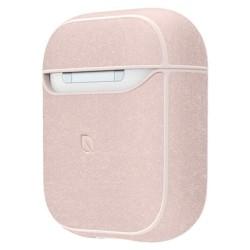 Защитен калъф Incase Metallic Case за Apple Airpods / Apple Airpods 2, розов