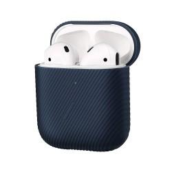Защитен калъф Native Union Silicone Curve Case за Apple Airpods / Apple Airpods 2, син