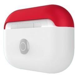 Защитен калъф SwitchEasy Colors Duo Caps за Apple Airpods Pro, бял