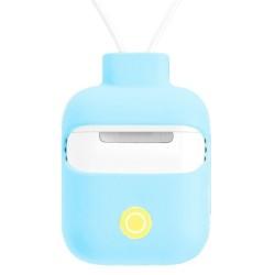 Защитен калъф SwitchEasy ColorBuddy за Apple Airpods / Apple Airpods 2, за безжичен кейс, син